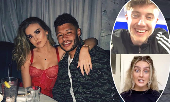 Perrie Edwards revealed what it's been like isolating with boyfriend Alex Oxlade-Chamberlain