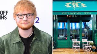 Ed Sheeran opened Bertie Blossoms in 2019.