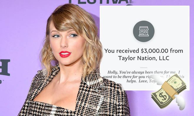Taylor Swift is donating thousands to help her fans affected by business closures