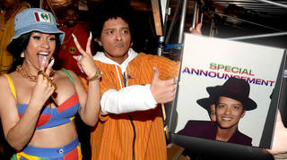 Bruno Mars Made A Hilarious Video To Announced Who's Replacing Cardi B