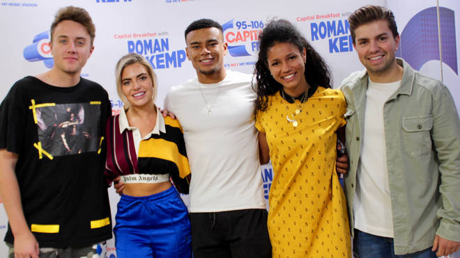 Megan and Wes on Capital Breakfast with Roman Kemp
