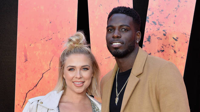Gabby Allen and Marcel Somerville together on the red carpet