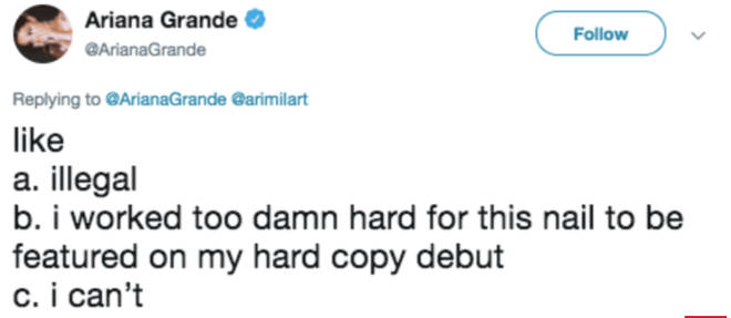 Ariana Grande Trolls Person Who Leaked Her 'Sweetener' Hard Copies