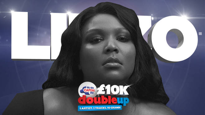 Listen out for Lizzo for your chance to win £10k
