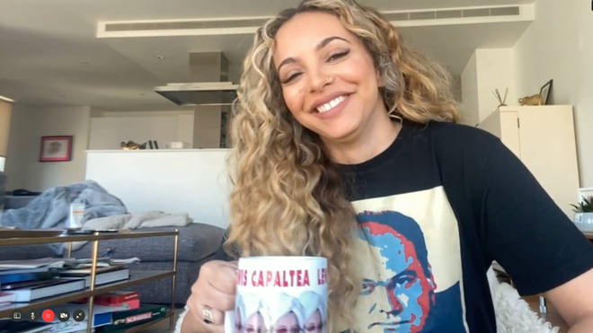Jade Thirlwall joined Capital Breakfast with Roman Kemp
