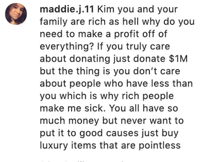 Fans blast Kim Kardashian's donation efforts