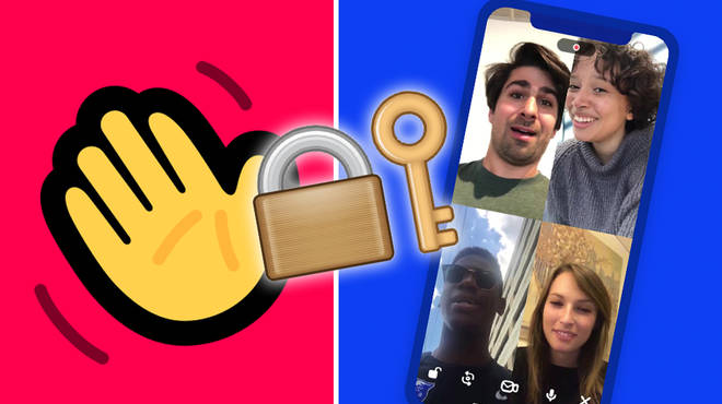 How do you lock a room in Houseparty?