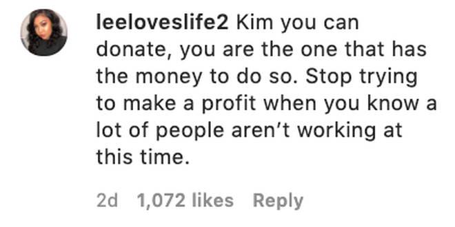Fans blast Kim Kardashian's donation