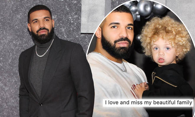 Drake shared the first photos of his son on Instagram
