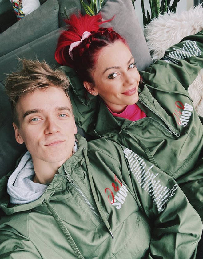 Joe Sugg and Dianne Buswell have postponed their live tour