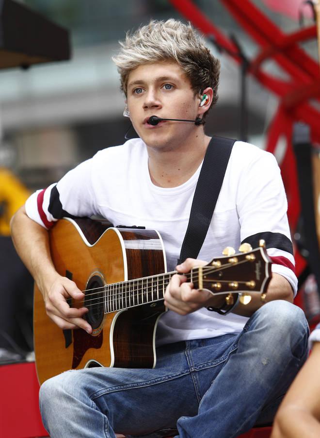 Niall Horan sporting bleach blonde hair- Today - Season 62