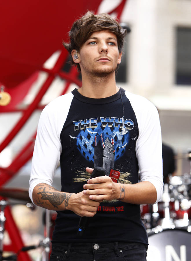 Louis Tomlinson has had perfect hair since 2013