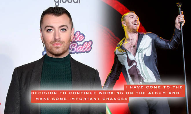 Sam Smith is pushing back the release date of their album