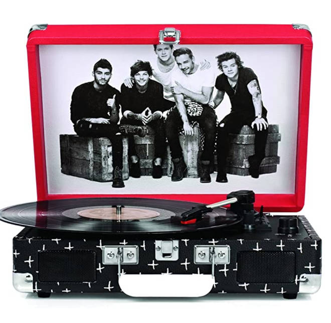 The record player is currently only available from places like Amazon and eBay