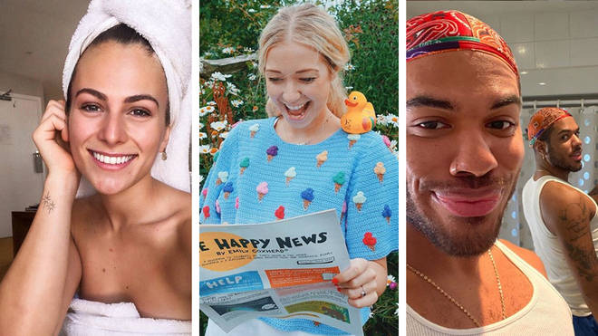 Steph Elswood, Emily Coxhead and Donte Colley's pages are some of the happy Instagram accounts you should be following right now