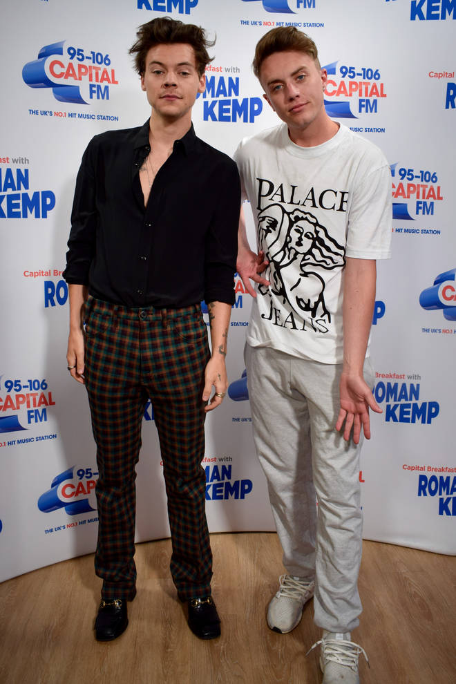 Harry Styles joined Capital Breakfast with Roman Kemp