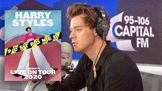 Harry Styles has had to postpone his Love On Tour tour