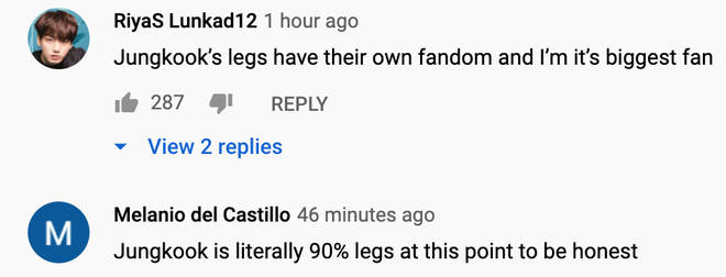 BTS fans are shook about Jungkook's legs