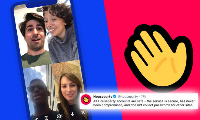 Houseparty has responded to claims their app was hacking into other accounts