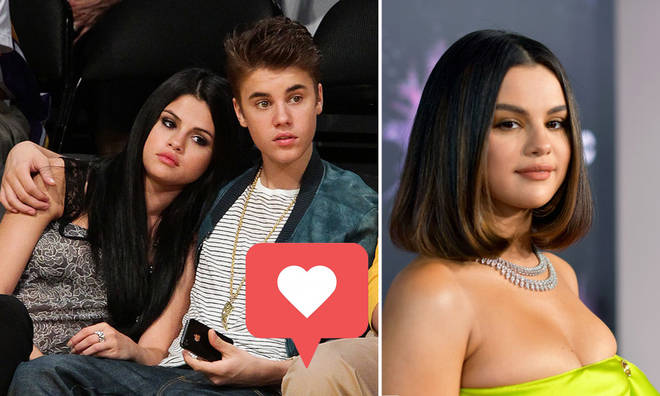 Selena Gomez liked and unliked two photos of her ex Justin Bieber
