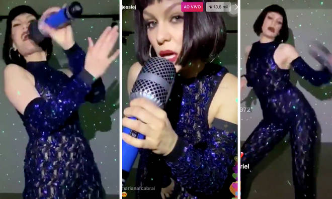 Jessie J hosts a concert from her front room and it was extra AF