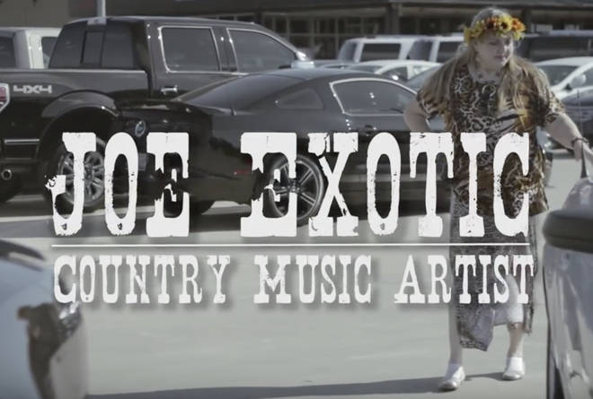 Joe Exotic insisted he sang the songs featured on his page