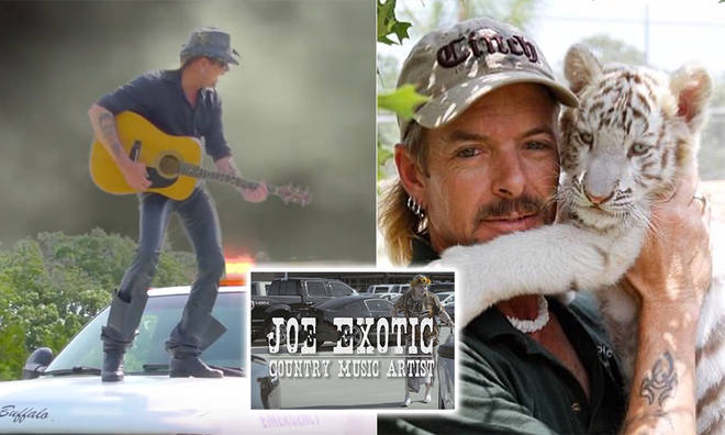 Joe Exotic has a list of country bops featured in his documentary