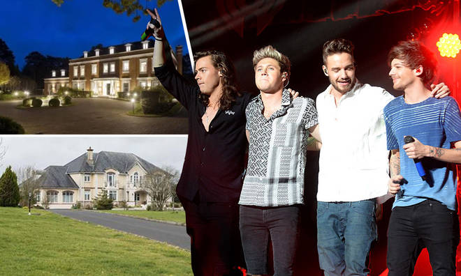 Each of the One Direction lads have mansions in the UK