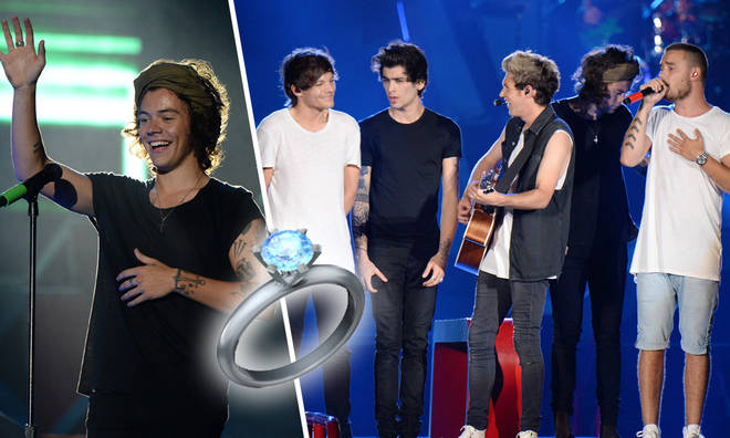 One Direction helped a fan propose at their concert in 2014