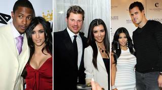 Kim Kardashian's ex-boyfriends and ex-husbands