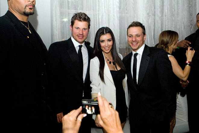 Kim Kardashian dated Nick Lachey for a short time