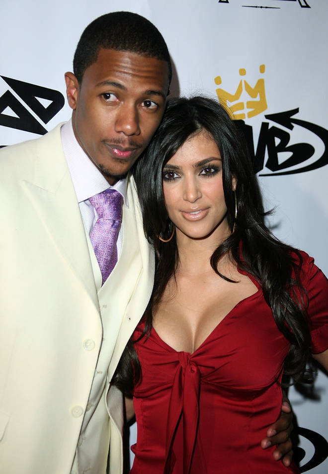 Kim Kardashian and Nick Cannon were together for almost a year