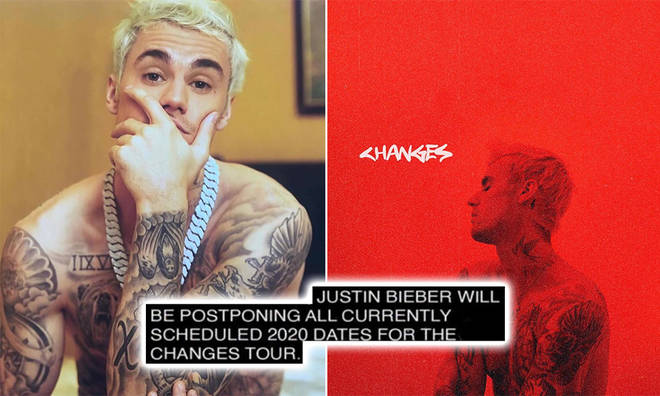 Justin Bieber's 'Changes' 2020 tour has been put on pause until future notice
