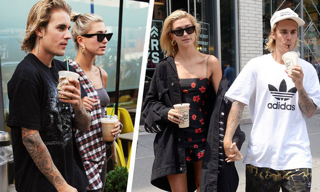 Justin Bieber & Fiancèe Hailey Baldwin Are Obsessed With Getting Coffee