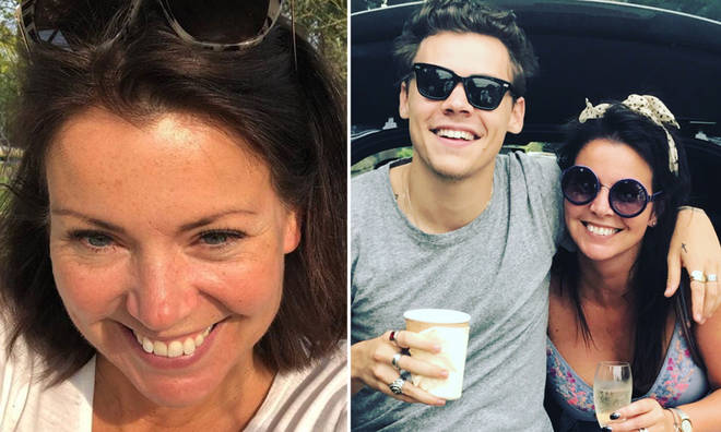 Harry's mum is so proud of her One Direction star boy!