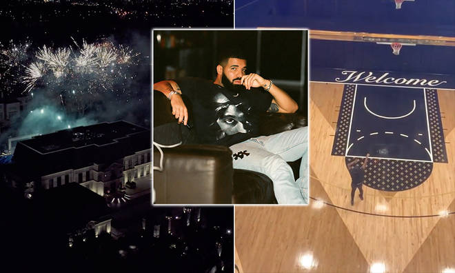 Drake moved into his mansion in 2019