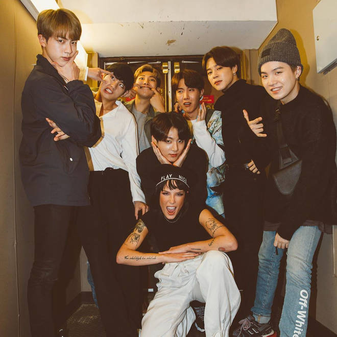 Fans praise Halsey and BTS' strong friendship