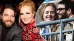 Adele and ex-husband Simon Konecki