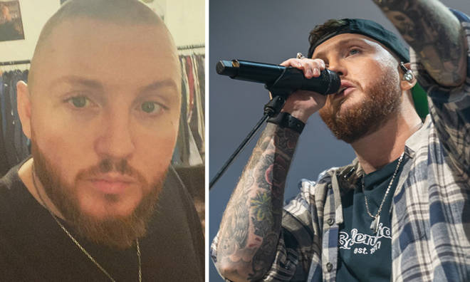 James Arthur is rocking a new look.