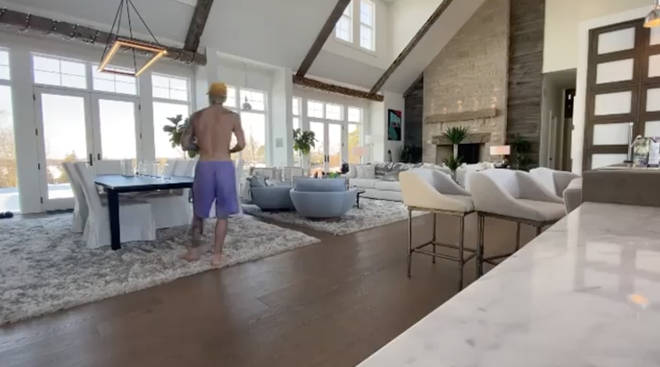 Justin and Hailey Bieber have a huge open-plan house