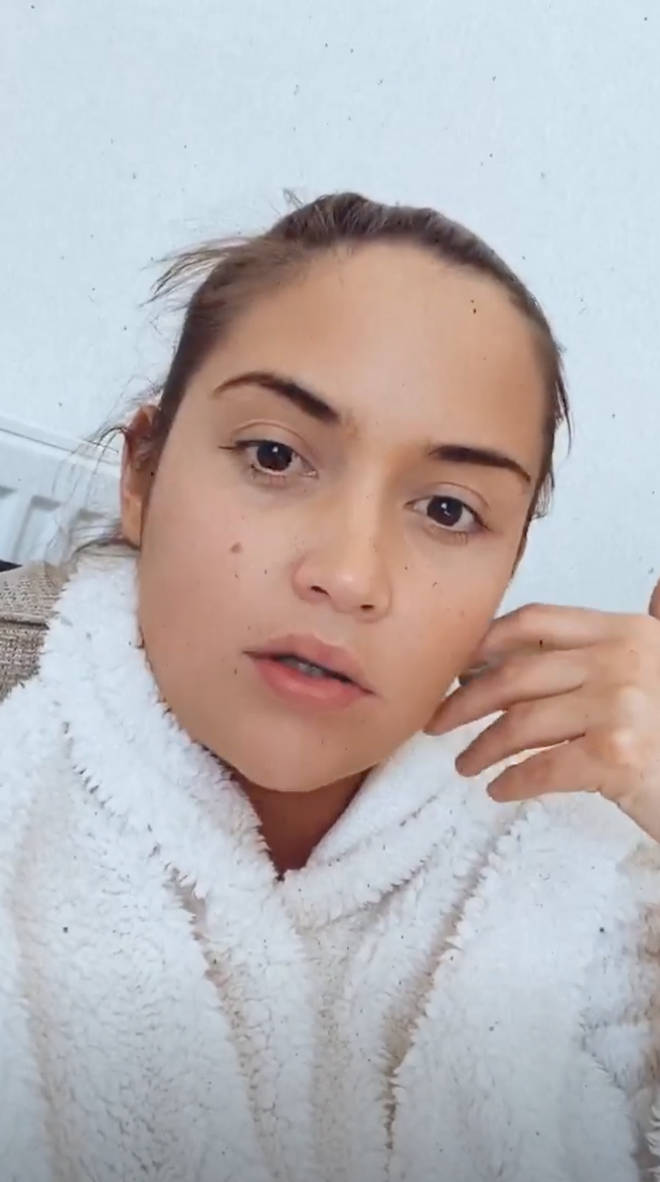 Jacqueline Jossa later addressed the backlash for her first video