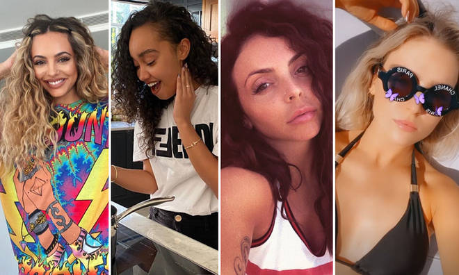 Each of the Little Mix ladies has gorgeous natural hair