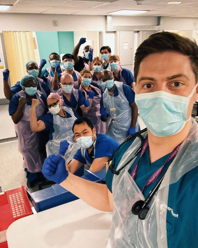 Dr Alex George is a full-time member of NHS staff