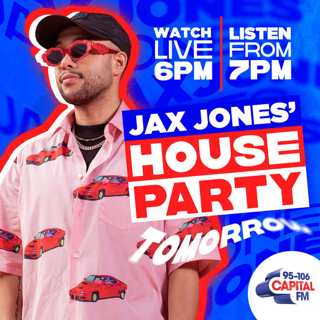 Join Capital for Jax Jones' House Party