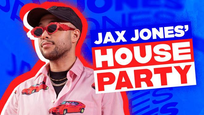 Jax Jones hosted a house party on Capital