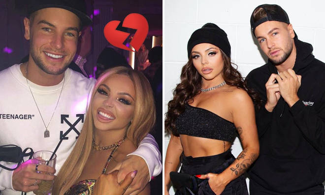 Have Jesy Nelson and Chris Hughes split?