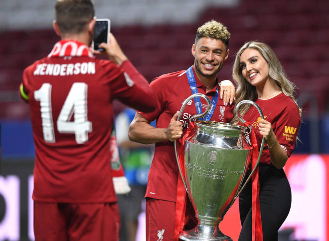 Perrie Edwards is dating footballer Alex Oxlade-Chamberlain