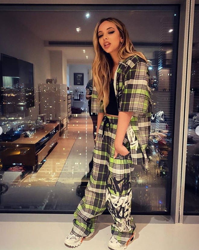 Jade Thirlwall's London flat has views of the city