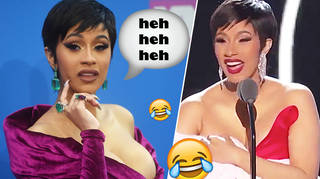 Cardi B Trolled The VMA's With A Fake Baby