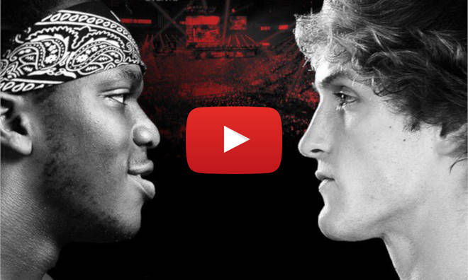 KSI v Logan Paul Fight